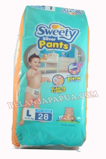 SWEETY SILVER  PANTS L28