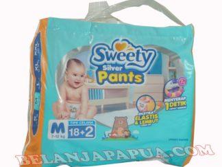 SWEETY SILVER PANTS M18+2