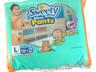 SWEETY SILVER PANTS L18+2