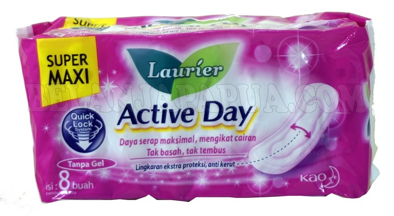 LAURIER ACTV DAY SPR MAXI 8PADS