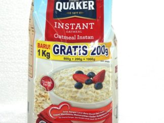 QUAKER INST OATMEAL MR BKS 800+200GR