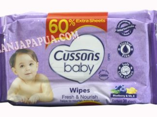 CUSSONS BABY WIPES F&N BLEBARRY 50S