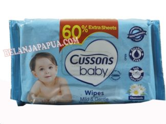 CUSSONS BABY WIPES MILD&GENTLE 50S