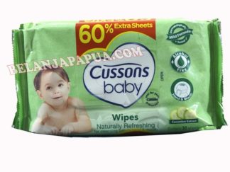 CUSSONS BABY  WIPES NTRL REFRES 50S