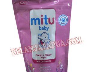 MITU BABY TISSUE BSH REFF PNK 60S